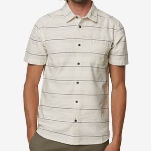 O'Neill Men's Culprit Yarn-Dyed Striped Shirt, XL